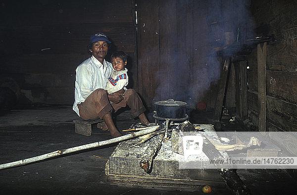 ASIAN MAN & CHILD