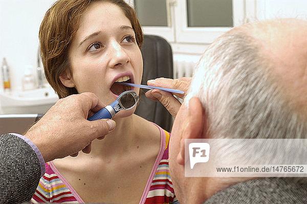 EAR NOSE & THROAT  WOMAN
