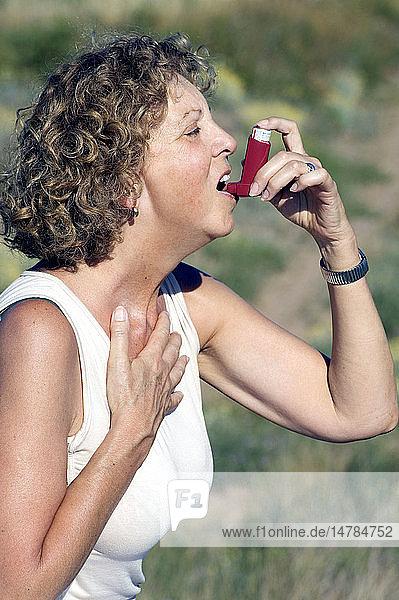 ASTHMA TREATMENT  ELDERLY PERSON