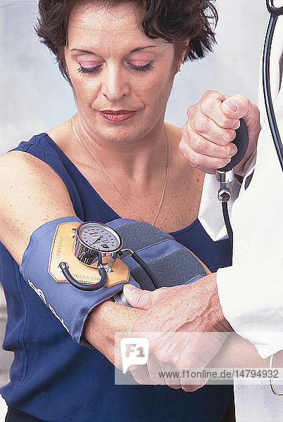 BLOOD PRESSURE  WOMAN