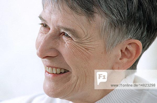 ELDERLY WOMAN FACE