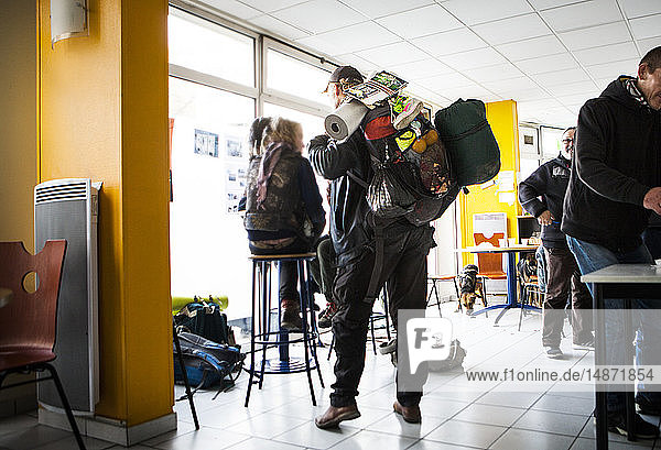 Reportage at Pause Diabolo  a risk reduction centre for drug users  in Lyon  France. Pause Diabolo sees drug users as part of a national French policy to reduce health hazards. This multidisciplinary helps deals with all aspects of life that are affected