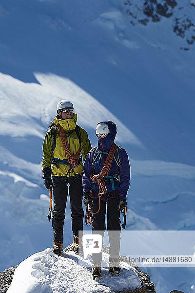 Bergsteiger  Chamonix  Rhône-Alpen  Frankreich