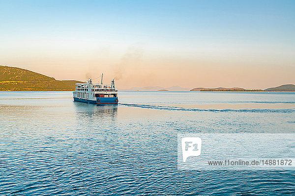 Fähre ab Hafen  Igoumenítsa  Thesprotia  Griechenland