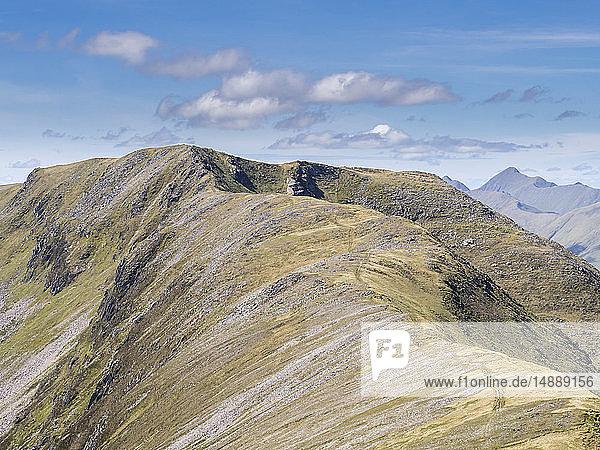 Great Britain  Scotland  Glen Shiel  South Shiel Ridge