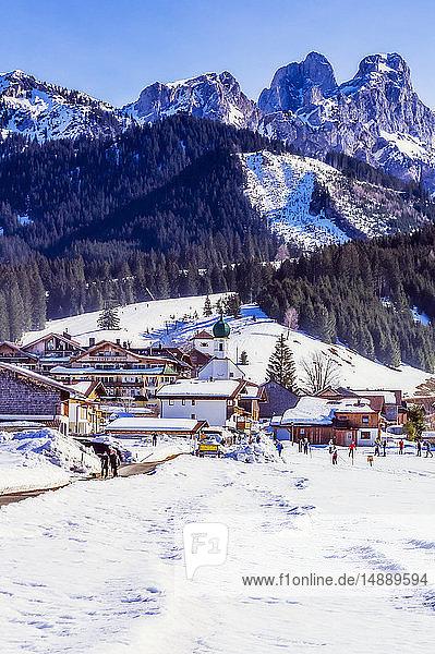 Österreich  Tirol  Tannheimer Tal im Winter