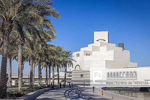 Waterfront Museum of Islamic Art in Doha  Qatar