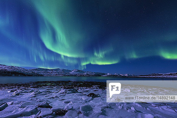 Aurora Borealis in Tromso  Norway