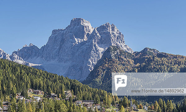 Mountain in the Dolomites  South Tyrol  Italy