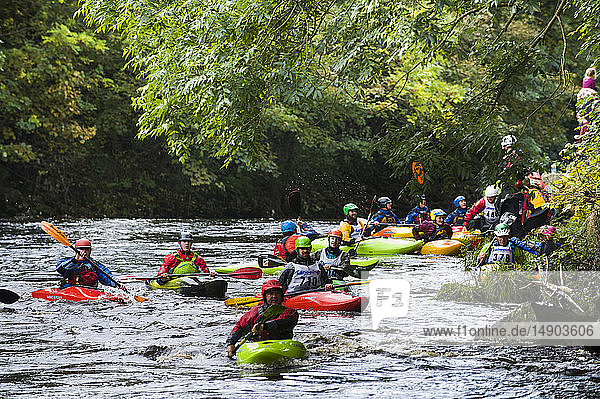 Carna Kayak event; Buncrana  County Donegal  Ireland