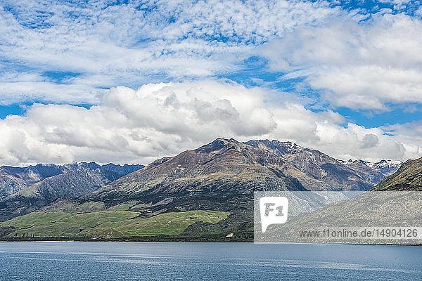 Beautiful Lake Wakatipu  near Queenstown; South Island  New Zealand