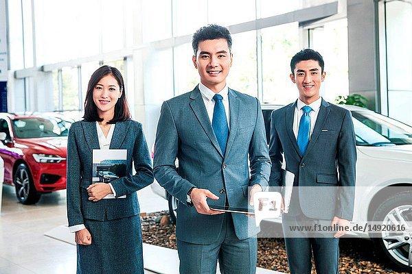 4 s shop car sales personnel