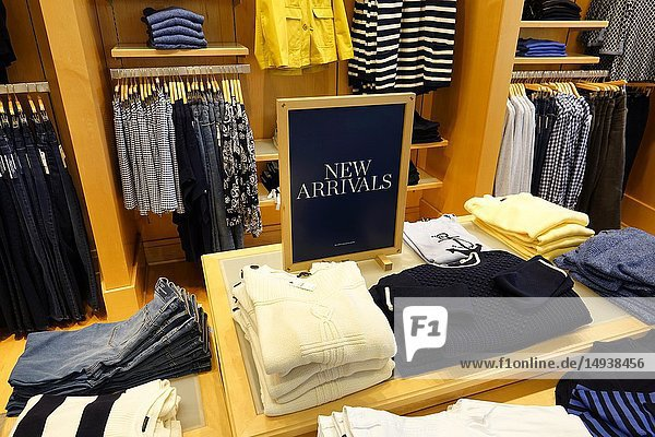 Florida  Fort Ft. Lauderdale  Pembroke Pines  Shops At Pembroke Gardens mall  shopping  Talbots women's clothing fashion  inside  display sale  promotion new arrivals