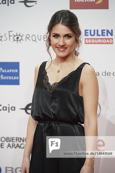 Sabina attends the 23rd edition of Jose Maria Forque Awards at Palacio de Congresos on January 13  2019 in Zaragoza  Spain