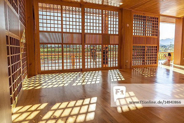 The interiors of the Japanese-style house  Chiang Mai  Northern Thailand