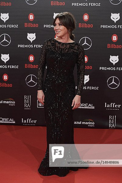 Lola Duenas attends the 2019 Feroz Awards at Bilbao Arena on January 19  2019 in Madrid  Spain