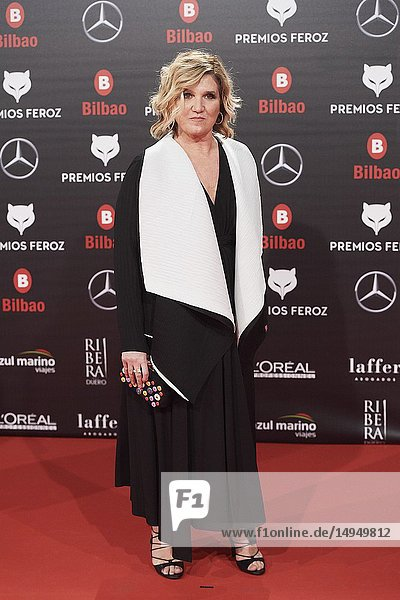 Ana Wagener attends the 2019 Feroz Awards at Bilbao Arena on January 19  2019 in Madrid  Spain