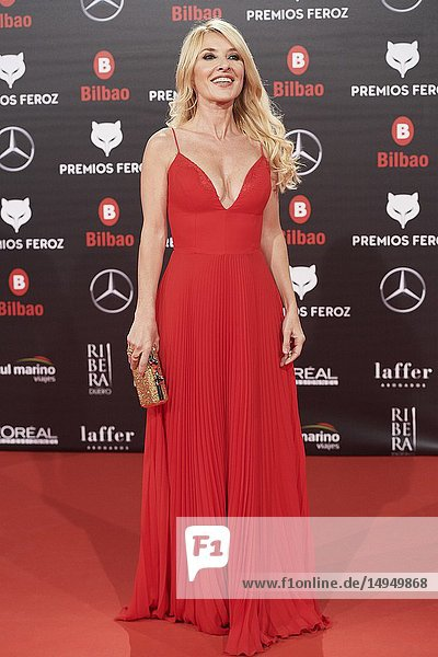 Cayetana Guillen Cuervo attends the 2019 Feroz Awards at Bilbao Arena on January 19  2019 in Madrid  Spain