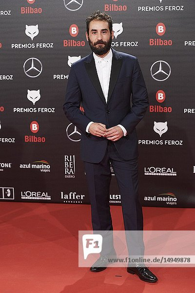 Jesus Carroza attends the 2019 Feroz Awards at Bilbao Arena on January 19  2019 in Madrid  Spain