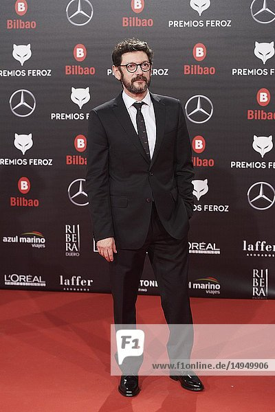 Manolo Solo attends the 2019 Feroz Awards at Bilbao Arena on January 19  2019 in Madrid  Spain