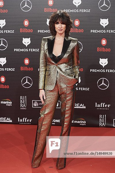 Paz Vega attends the 2019 Feroz Awards at Bilbao Arena on January 19  2019 in Madrid  Spain