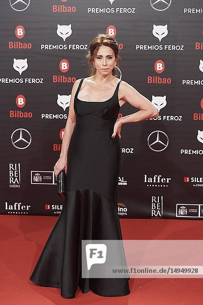 Fabiana Garcia Lago attends the 2019 Feroz Awards at Bilbao Arena on January 19  2019 in Madrid  Spain