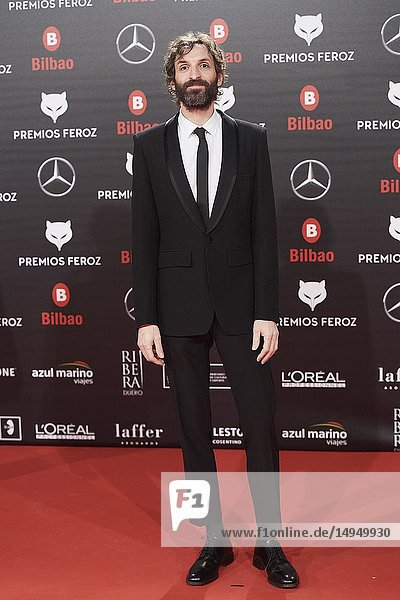 Julian Villagran attends the 2019 Feroz Awards at Bilbao Arena on January 19  2019 in Madrid  Spain