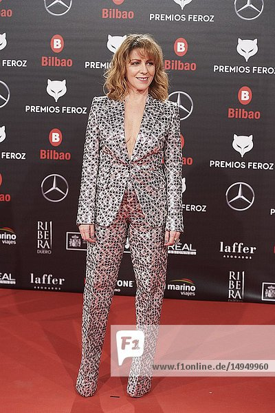 Eva Llorach attends the 2019 Feroz Awards at Bilbao Arena on January 19  2019 in Madrid  Spain