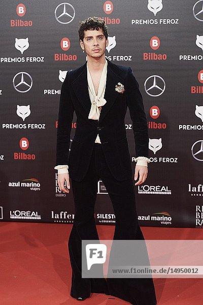 Eduardo Casanova attends the 2019 Feroz Awards at Bilbao Arena on January 19  2019 in Madrid  Spain
