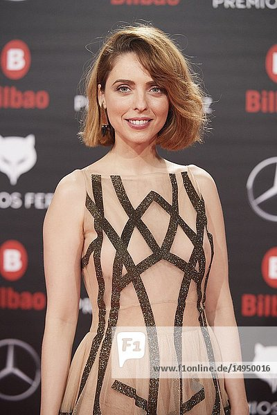 Leticia Dolera attends the 2019 Feroz Awards at Bilbao Arena on January 19  2019 in Madrid  Spain