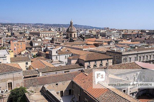 Catania  Sicily  Italy.