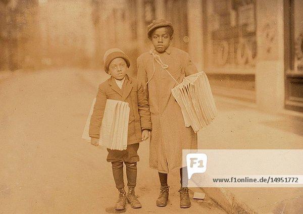 Negro Newsboys