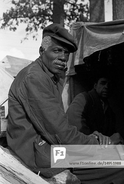 African American Evicted sharecropper  New Madrid County  Missouri