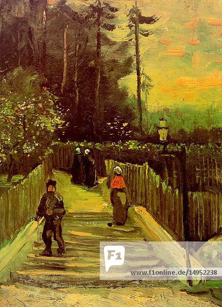 Sloping Path in Montmartre