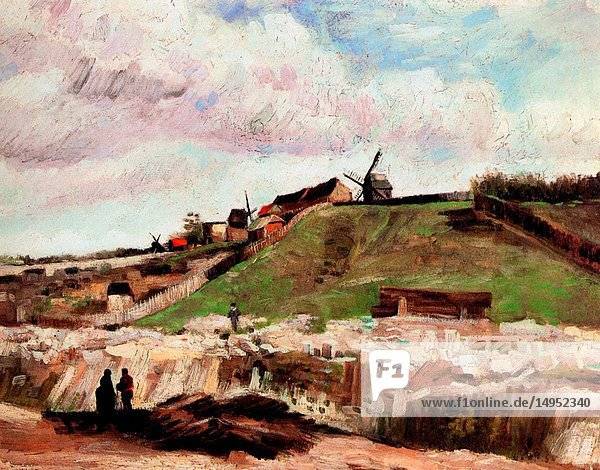 Hill of Montmartre with Quarry