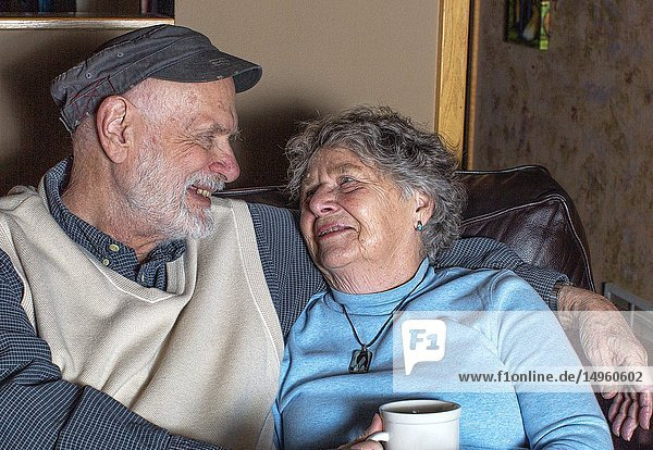 An elderly couple in Washington in the United States  finds love and laughter everyday in life and in the art.