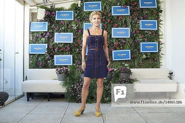Elsa Pataky presents the Spring-Summer 2019 collection by Gioseppo Woman at Picalagartos Sky Bar on February 15  2019 in Madrid  Spain