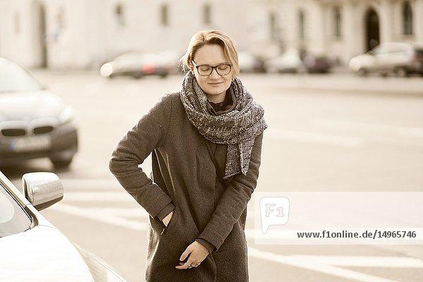 Woman  Munich  Germany.