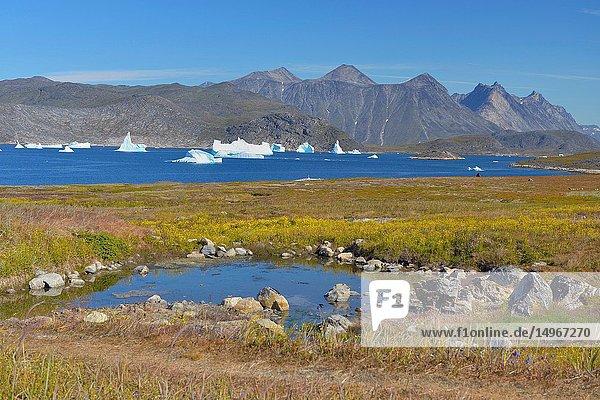 Thermal baths in Unartoq (Greenland)
