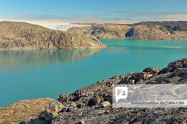 Fiord in Greenland