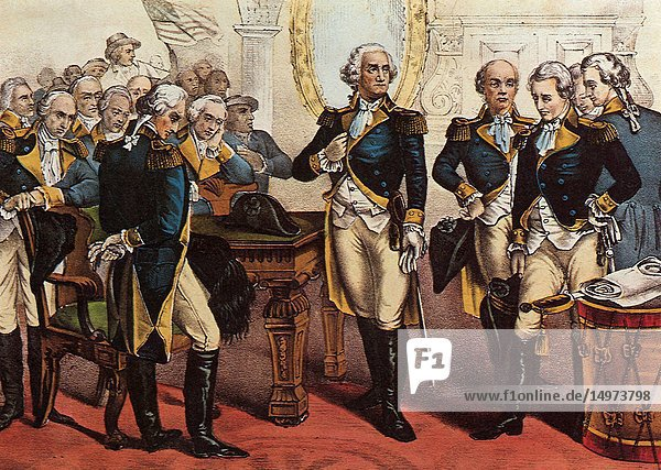 Washington's Farewell to the Officers of his Army.
