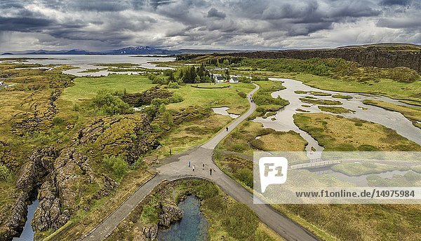 Thingvellir National Park  Iceland.