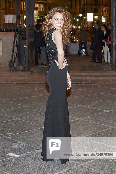 Maria Castro attends 'Fotogramas Awards 2019' at at Florida Park on March 4  2019 in Madrid  Spain