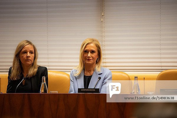 The former president of the Community of Madrid Cristina Cifuentes has attended this Wednesday in the research commission of universities of the Assembly of Madrid to appear in relation to the case Master  which is investigated for alleged crime of falsification of documents.