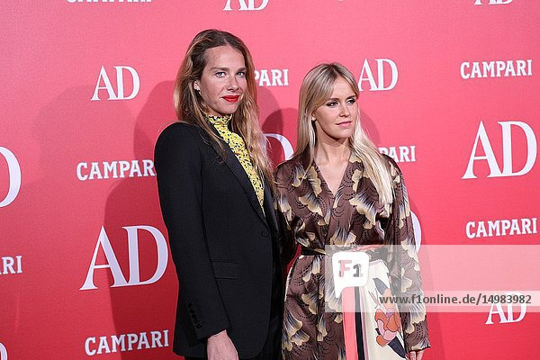 Ana Rodriguez(L) and Monica Roz seen attending the event.