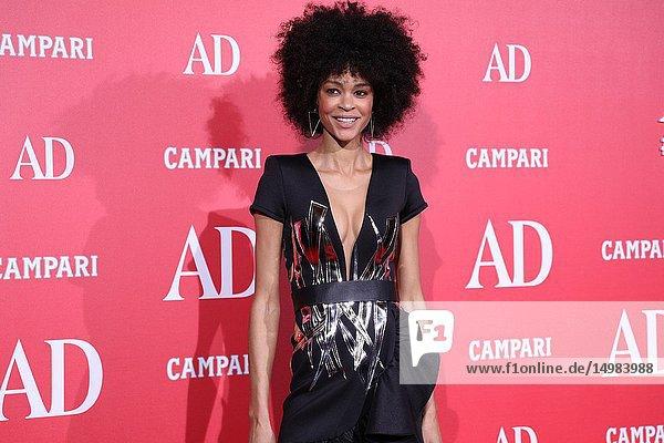 Godeliv Van der Brandt  actress  seen attending the event.