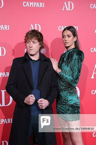 DJ Gerard Estadella and her partner were attending the event.