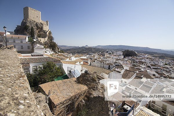 Olvera is one of the most beautiful villages in Spain  Andalusia Spain.