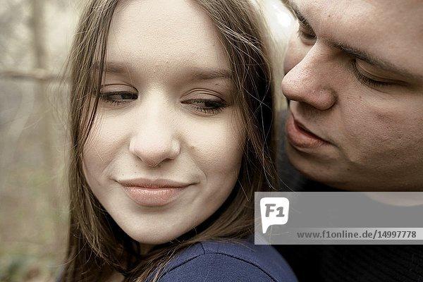 Headshot of couple  in Cottbus  Brandenburg  Germany
