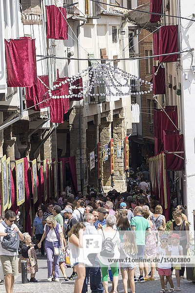 Morella  Spain. The Sexenni is one of the oldest festivals in Spain  was celebrated for the first time in 1678  after establishing the council a sexennial celebration in honor Vallivana Virgin.
